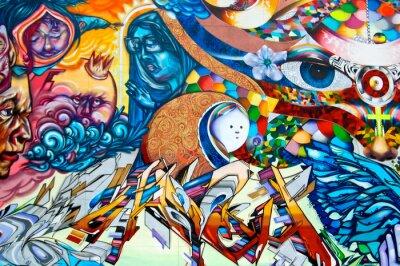Canvas print Graffiti