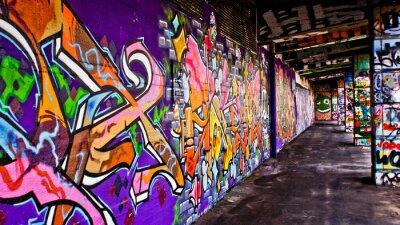 Canvas print Graffiti Gang