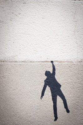 Canvas print Graffiti personnage