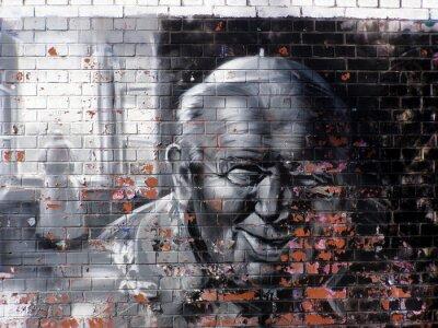 Canvas print graffiti religion