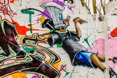 Canvas print Graffiti Street Art