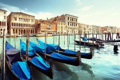 Canvas print Grand Canal, Venice, Italy
