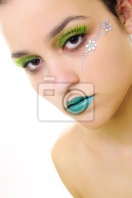 green glamourportrait