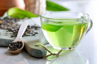 Canvas print Green spa tea