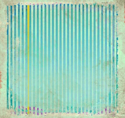 Canvas print Grunge blue striped background