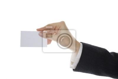 Canvas print hand