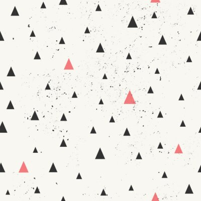 Canvas print Hand Drawn Abstract Seamless Pattern