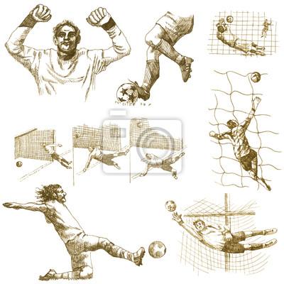 hand-drawn series - FOOTBALL