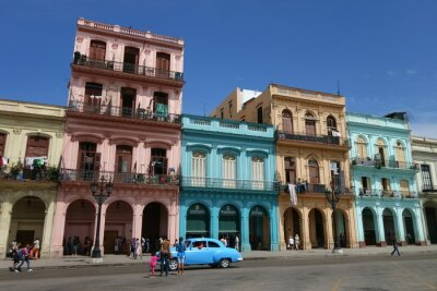 Canvas print Havanna