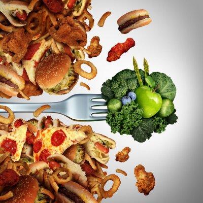 Canvas print Health Diet Breakthrough