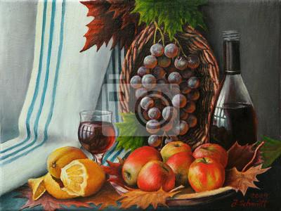 Canvas print Herbstliches Stilleben