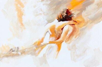 Canvas print Herbstliebe