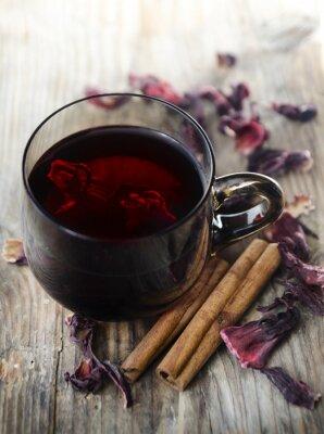 Canvas print Hibiscus Tea