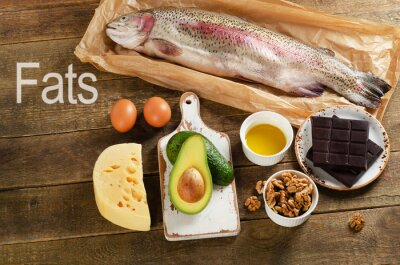 Canvas print High Fat Foods That Are Healthy
