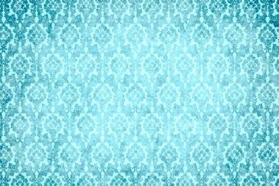 Canvas print hintergrund - blaue pracht