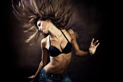 Canvas print hot dance