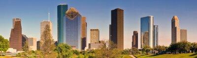 Canvas print Houston Skyline