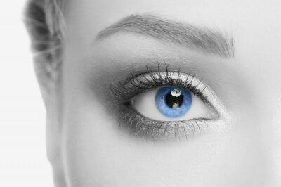 Canvas print Human eye