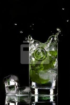 ice splashing