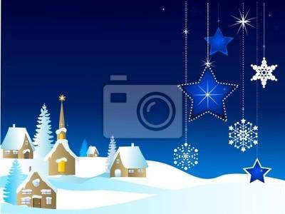 Canvas print image de Noël