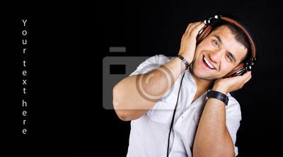 Canvas print Image of DJ