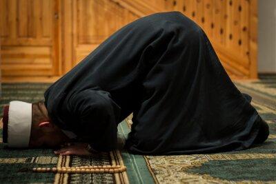 Canvas print Imam praying