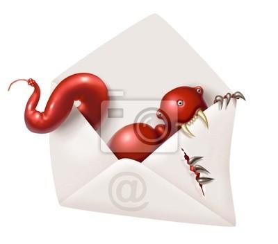 incoming e-maill virus