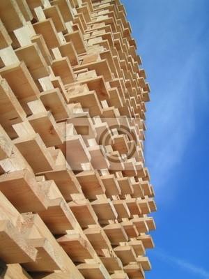 industry wood palette