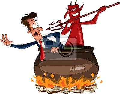 Infernal cauldron