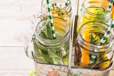 Canvas print Infused water
