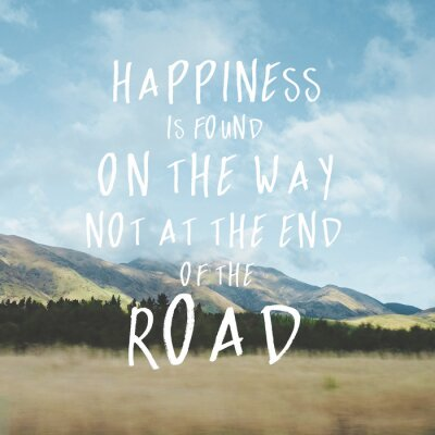 Canvas print Inspirational motivational quote