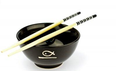 isolated sushi