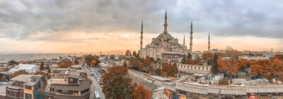 Canvas print Istanbul - City panoramic skyline