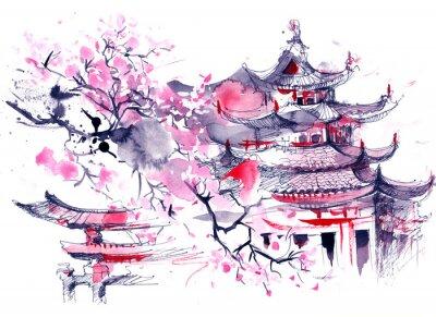 Canvas print Japan