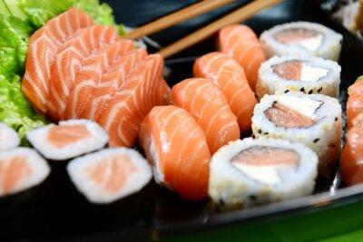 Canvas print Japanese food - Sushi