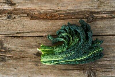 Canvas print Kale or leaf cabbage