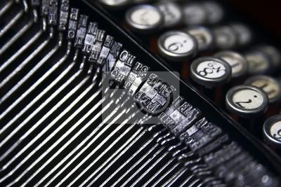 kees of typewriter