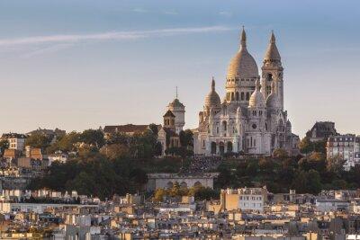 Canvas print La Basilique du Sacré Cœur de Montmartre