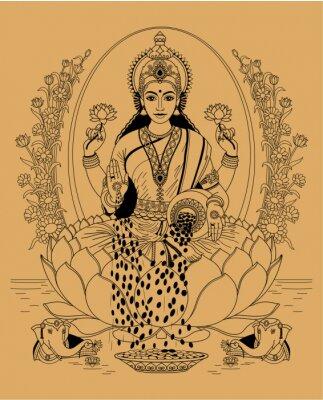 Canvas print Lakshmi