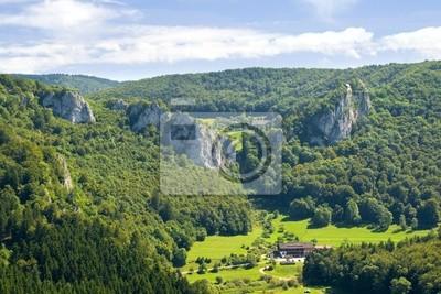 Landscape in the Danube Swabian Alb
