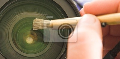 lens cleanilig