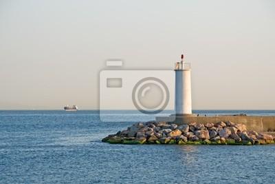 Lighthous at sea