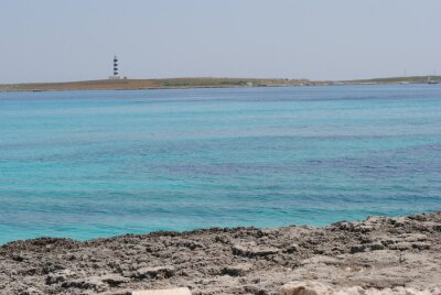 Lighthouse and sea in Minorca