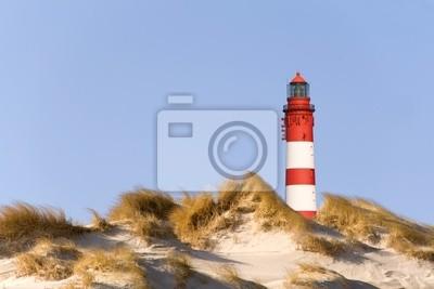 Lighthouse on the beach of Amrum