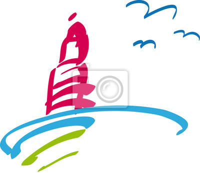 Lighthouse - sun - sea - holiday - holiday