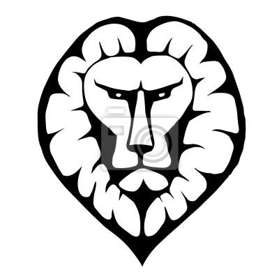 Lion Head Symbol