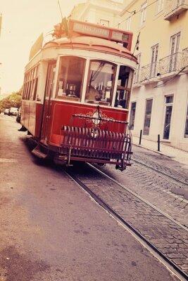 Canvas print Lisbonne (tram électrique)