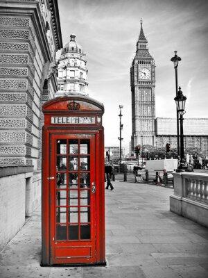 Canvas print London impression