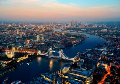 Canvas print London night