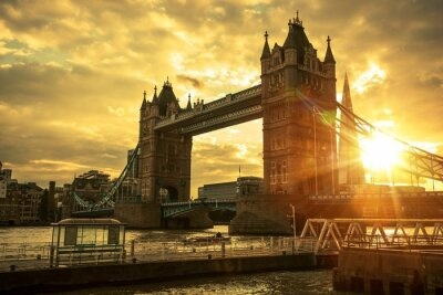 Canvas print London Tower Bridge